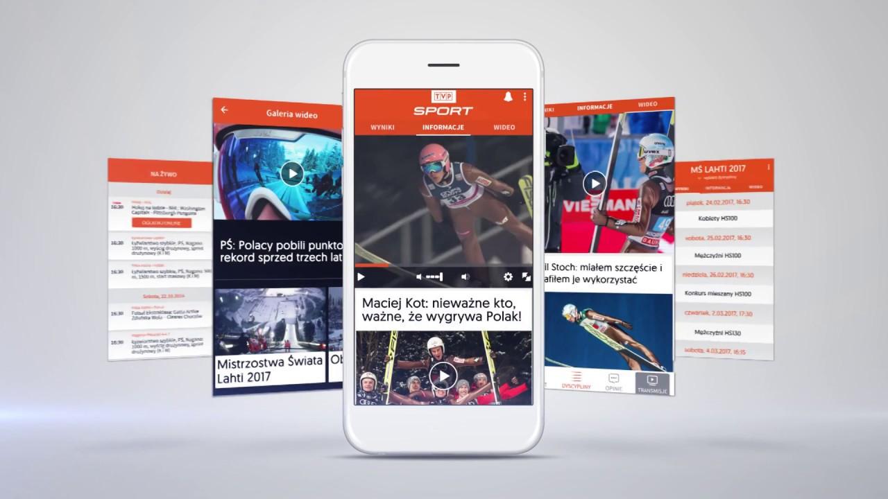 b45641dac12439 Pobierz aplikację TVP Sport - tvp.info