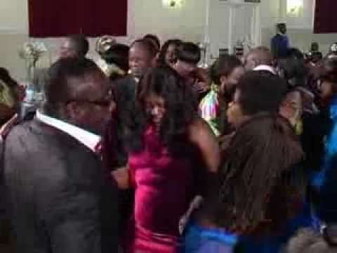 Ghana Dynamic International Club. London endof year party  2009  part 1