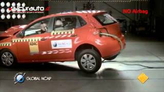 Crash test Global NCAP India - Volkswagen Polo(Il crash test Global NCAP a 64 km/h sulla Volkswagen Polo Global NCAP crash test on an indian Volkswagen Polo ..., 2014-01-31T08:13:42.000Z)