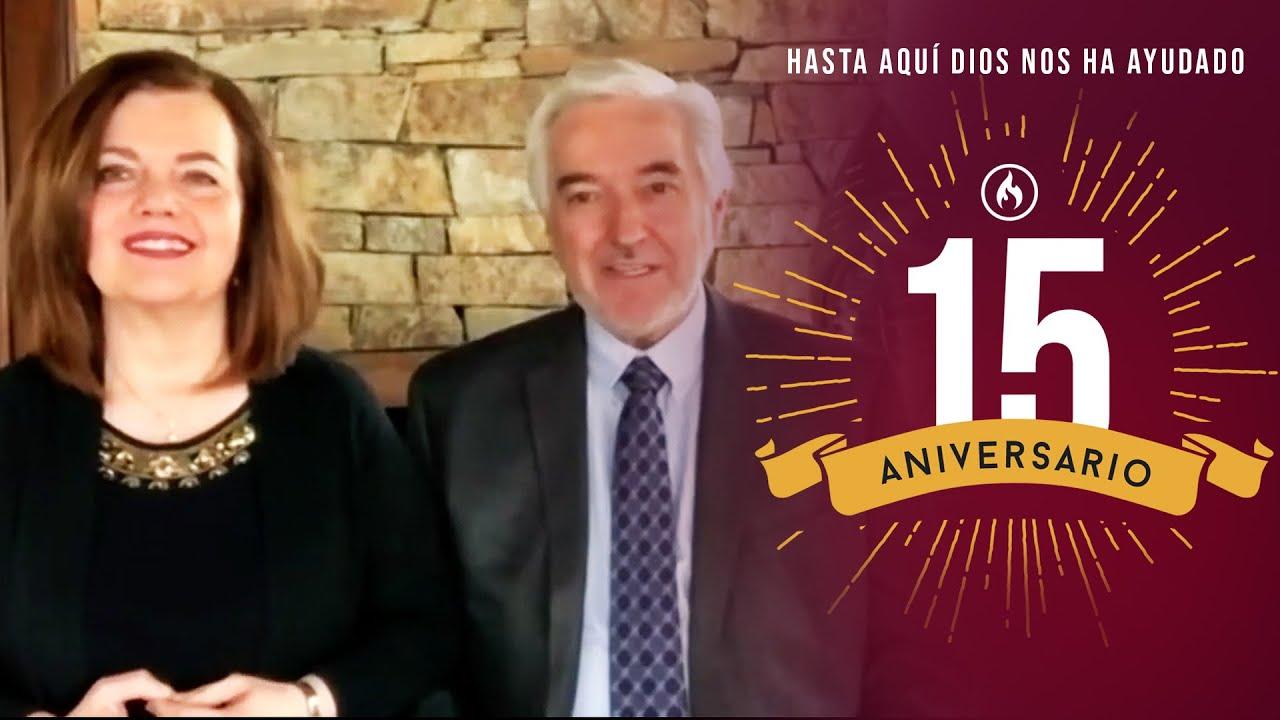 Pastores Rodolfo y Adriana Garza - Amistad de Monterrey XV Aniversario