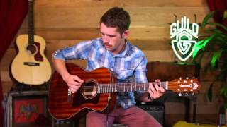 Guild Westerly Collection OM-120 Acoustic Guitar Demo