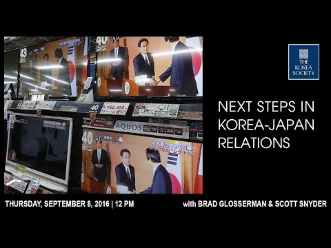 Next Steps in Korea-Japan Relations