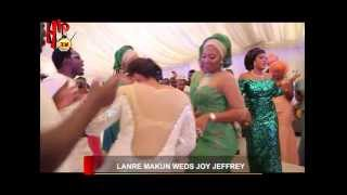 AY39S BROTHER LANRE MAKUN WEDS JOY JEFFREY IN LAGOS Nigerian Entertainment News