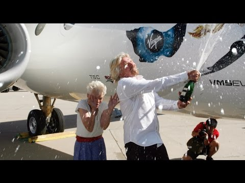 Richard Branson thanks his mom for his adventerous spirit