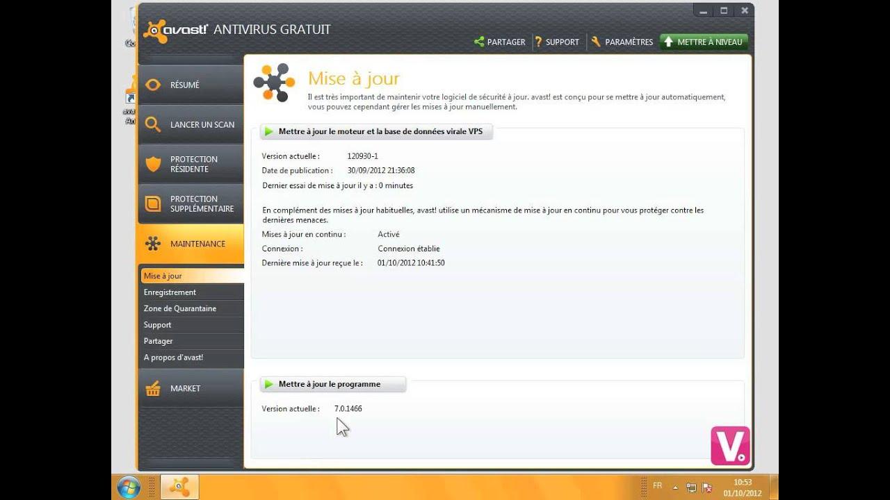 SECURITY A INTERNET 2012 AVIRA GRATUIT JOUR MISE MANUELLE TÉLÉCHARGER
