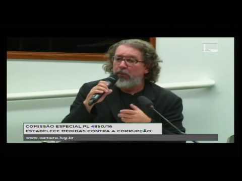 PL 4850/16 - ESTABELECE MEDIDAS CONTRA A CORRUPÇÃO - Reunião Deliberativa - 03/10/2016 - 14:46