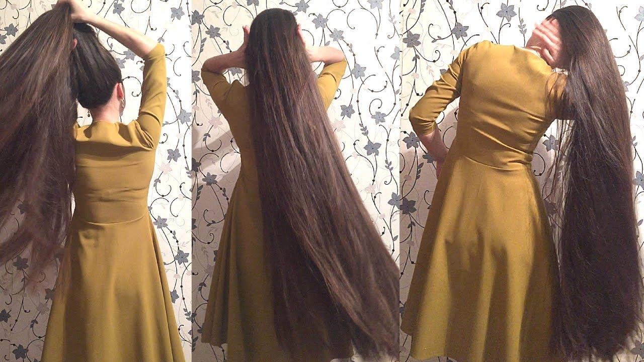 Images Of Long Hair Styles: Super Long Hair Rapunzel Meets Pocahontas Bun Drop