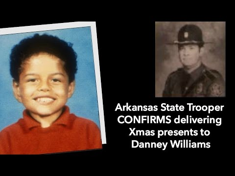 Arkansas State Trooper CONFIRMS delivering Xmas presents to Danney Williams