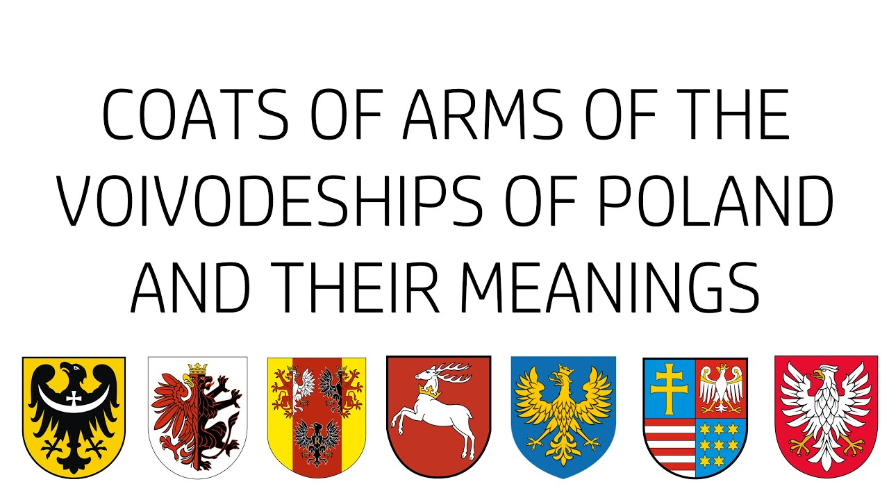 Coats of arms of the voivodeships of poland and their meanings youtube buycottarizona Image collections
