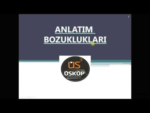 7. Sınıf Türkçe - Anlatım Bozuklukları