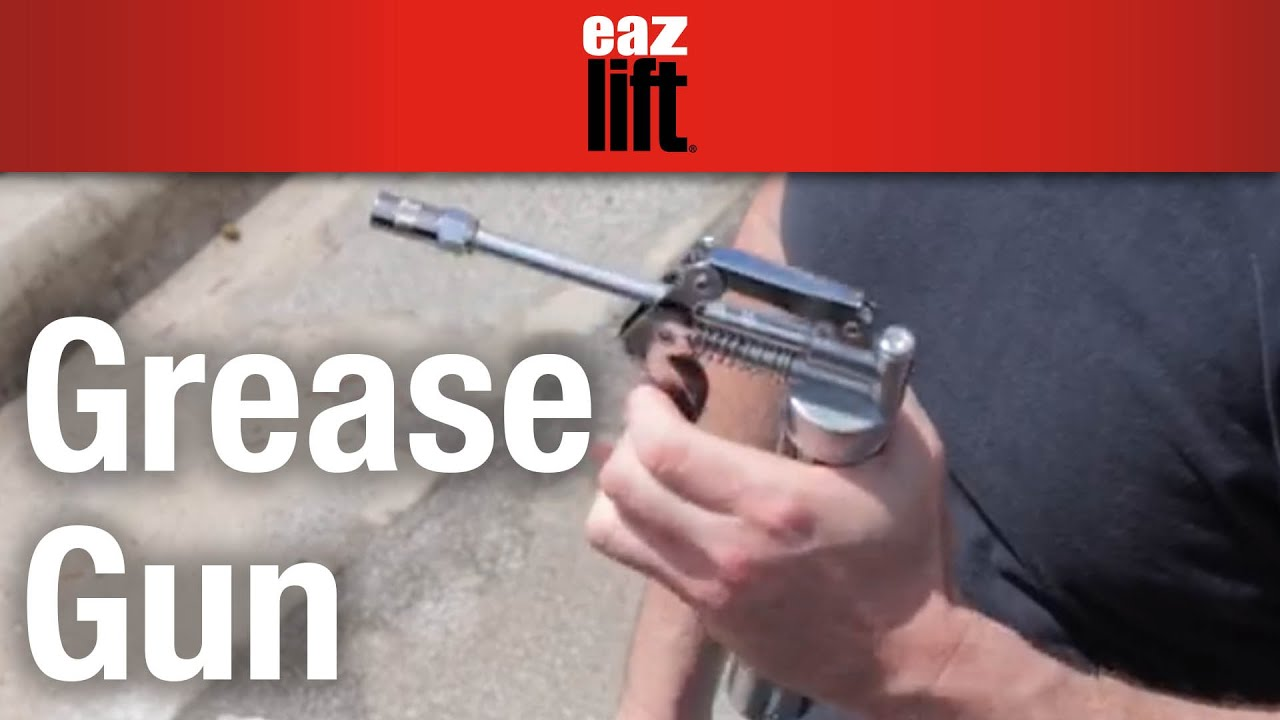 Eaz-Lift's Grease Gun: How to install the grease tube
