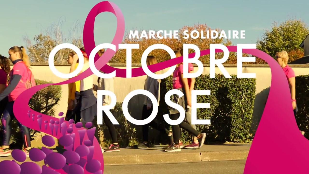 2018 marche solidaire Octobre Rose