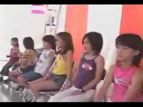 Hello pro KIDS Audition 2002 backstage