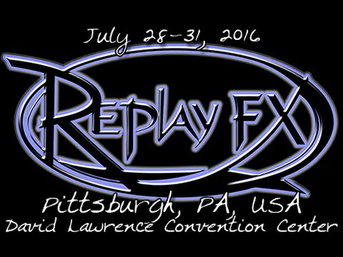 DGA Attends: ReplayFX @ David L. Lawrence Convention Center, Pittsburgh PA (7/31/16)