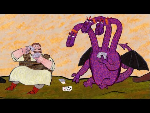 Гора самоцветов - Никита Кожемяка + Про Степана Кузнеца  - Обучающий мультфильм для детей