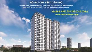 Phối cảnh - Thiết kế dự án Chung cư Tecco Home An Phú - CĐT Tecco Miền Nam - Tập Đoàn Tecco