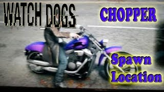 Watch Dogs: Chopper Location | Classic Cycle