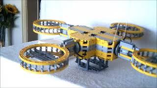 Lego Technic   Meine Drohne  Der Gelbe Engel