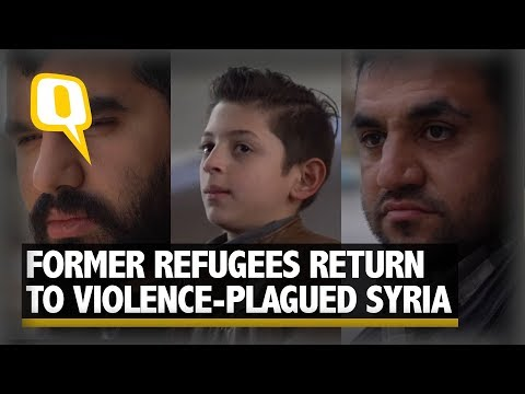 Syrians Return Home
