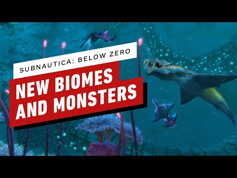 Subnautica: Below Zero's Chilly New Biomes and Terrifying Sea Monsters