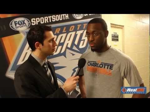 Real GM speaks with Charlotte Bobcats PG Kemba Walker