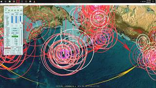 8/30/2018 -- West Coast California Earthquake activity -- Midwest USA hit by same size -- Be Ready