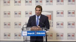 Conférence de presse du Président Christian Jacob du 21/11/2017