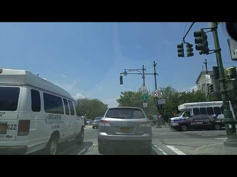 Driving from Brownsville to Prospect Lefferts Gardens Brooklyn,New York