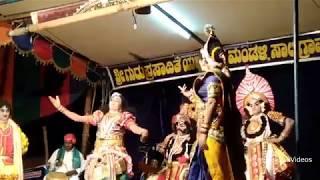 Yakshagana - Pushpa Chandana - Harish japti - Umashankara