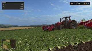 Crop damage on Farming Simulator 17