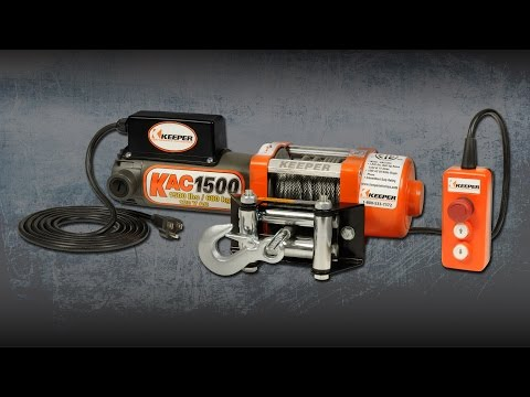 KEEPER KAC1500 Electric Winch
