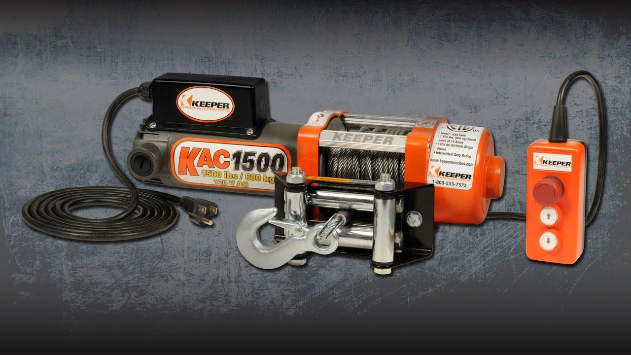 Keeper Kac1500 Electric Winch