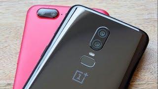 Стоит ли менять OnePlus 5T на OnePlus 6?