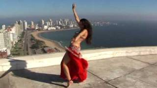 Magical Egyptian Belly Dance: Punta del Este to the feet of Faiza Al Manzur
