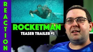 REACTION! Rocketman Teaser Trailer #1 - Bryce Dallas Howard Movie 2019