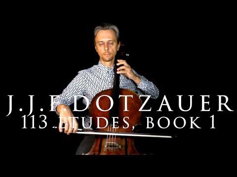 Dotzauer, Exercises for Cello, Book 1, No.1