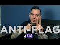 Capture de la vidéo Anti-Flag Records In My Life Interview 2017