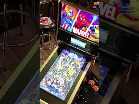 Arcade1up Marvel Pinball: Fear Itself Gameplay from Kelsalls Arcade