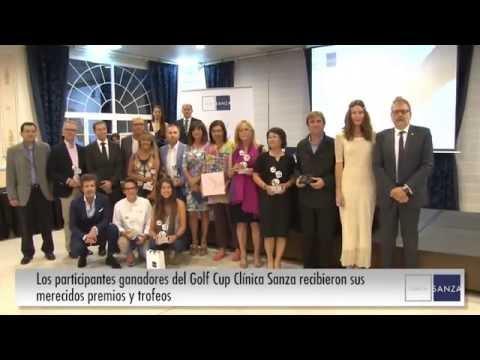 123 jugadores participan en la III Golf Cup Clínica Sanza