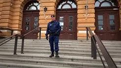 Oulun poliisi, konstaapelilaulaja Petrus Schroderus.