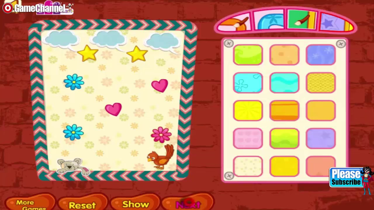 Decorate Your School Board Home Decoration Games Videos Games For Kids Girls Baby