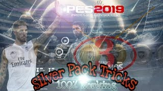 Thunder BlackBall in Silver Pack 100% working tricks | PES 2019 MOBILE