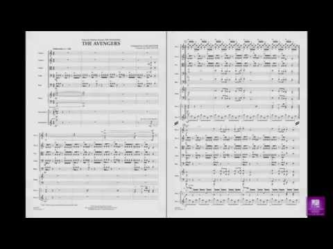 The Avengers (Main Theme) By Alan Silvestri/arr. Moore