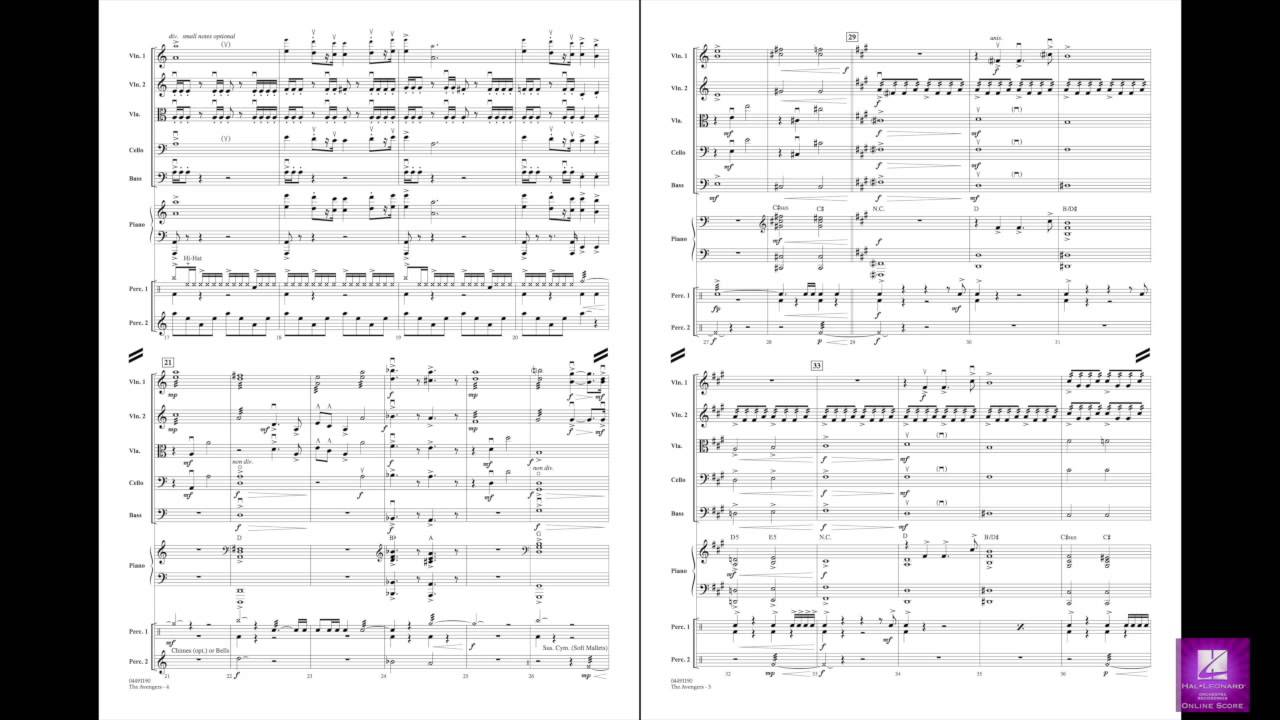 The Avengers (Main Theme) - Orchestra Music Download