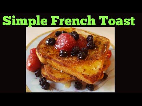 Simple French Toast/ yummy recipe - YouTube