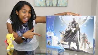 Destiny - Glacier White PS4 Bundle Unboxing!