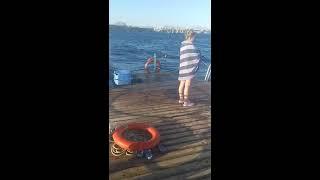 Шторм в Красном море