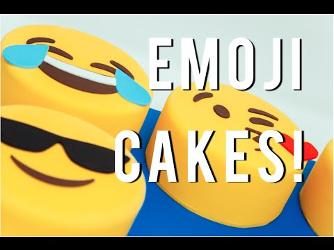 How To Make Your Favorite EMOJIS Out Of CAKE Chocolate Cakes Buttercream And Fondant