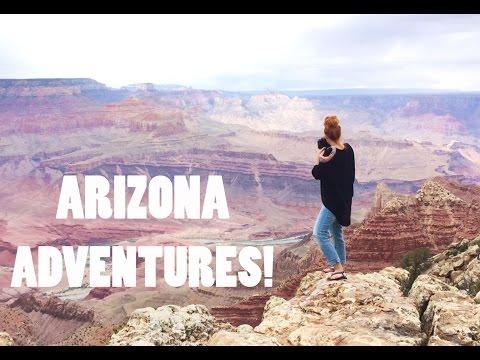 FLYING INTO THE GRAND CANYON!!!   Arizona Vacation