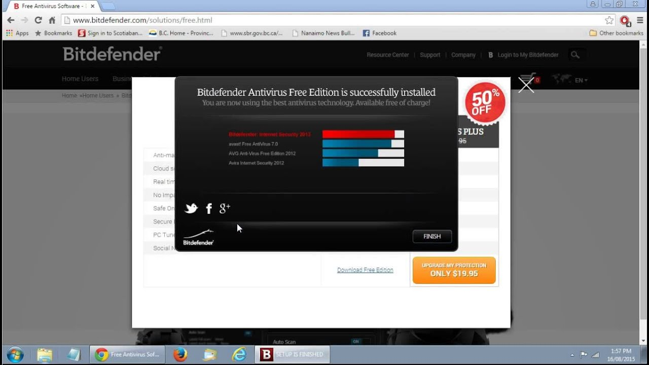 how to use bitdefender free edition